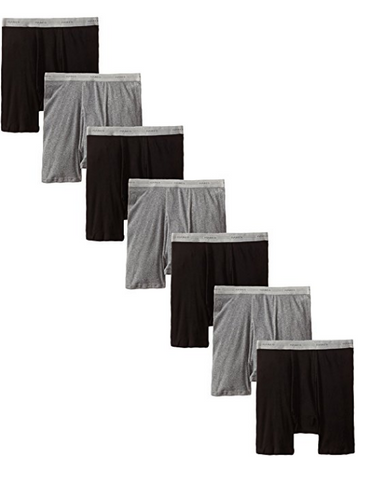 Pack of 7 Hanes boxer briefs