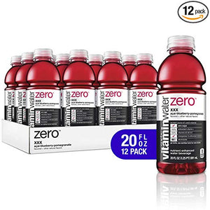 12 Bottles Of Vitaminwater Zero XXX Acai-Blueberry Pomegranate