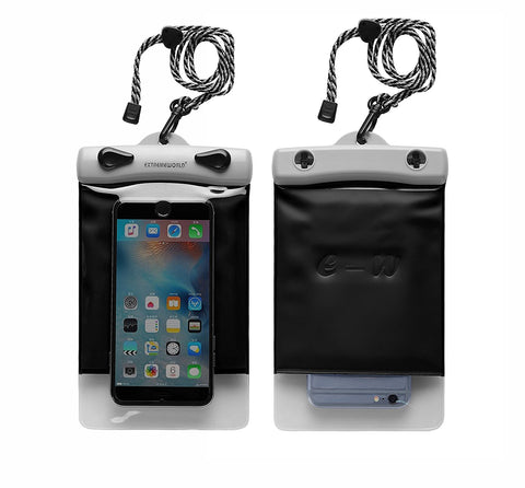 Waterproof bag for smartphone