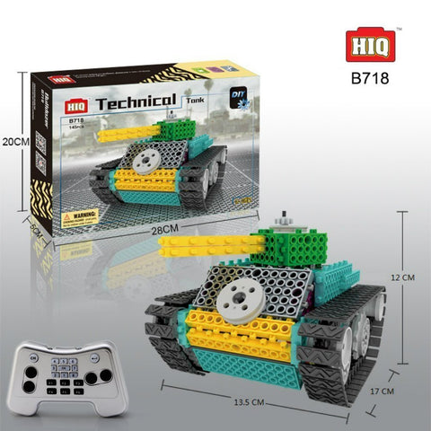 Remote Control Construction Tank