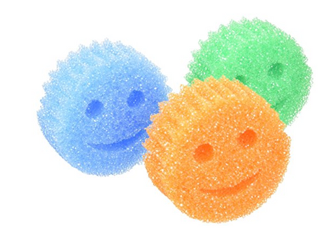 Pack of 3 Scrub Daddy Color Sponges