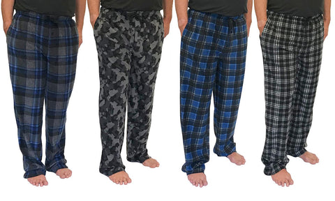 Medalist Men's Micro Fleece Pajama Pants (2-Pack)