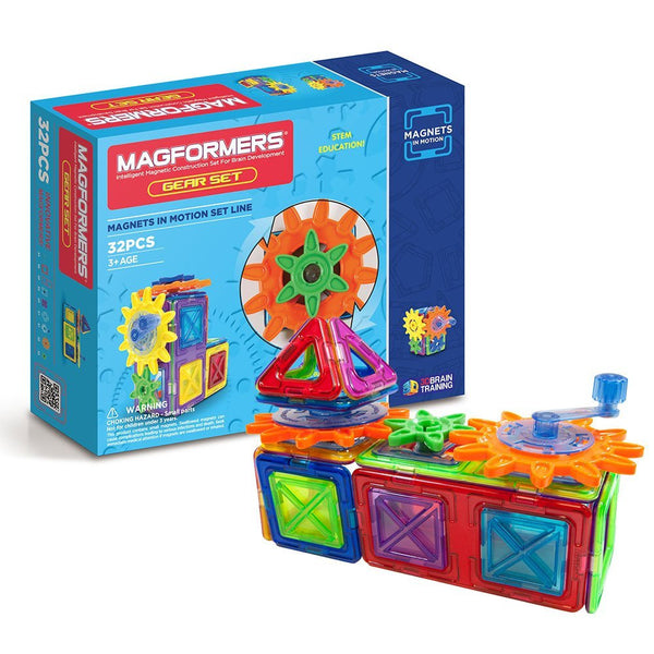 Magformers Magnets in Motion (32-pieces)