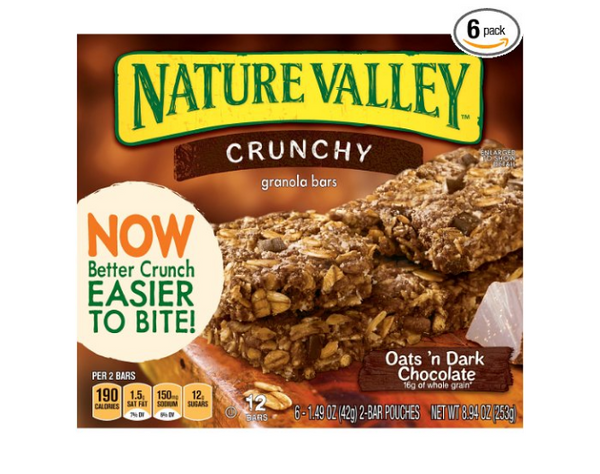 Pack of 6 Nature Valley Granola Bars