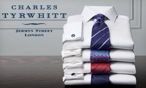 Charles Tyrwhitt non-iron dress shirts on sale