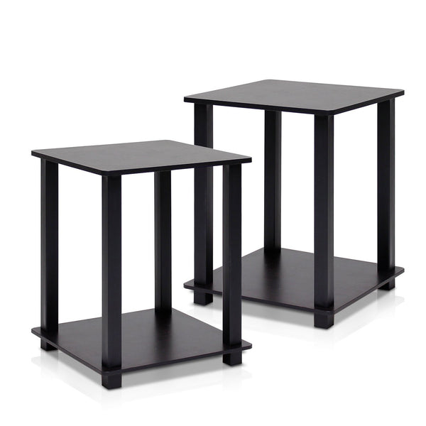 Set of 2 Furinno End Tables