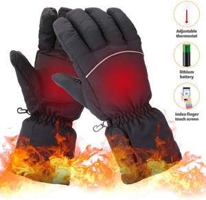 Touchscreen Electric Heated Gloves Hand Warmers
