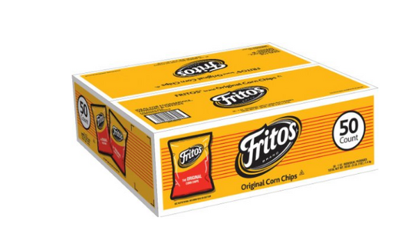 Pack of 50 Fritos Corn Chips