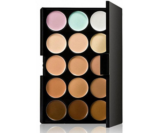 15 Color Cream Concealer Palette
