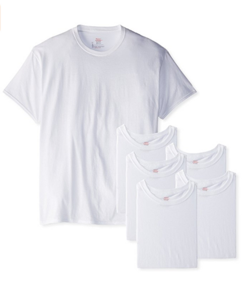 Pack of 6 Hanes T-shirts