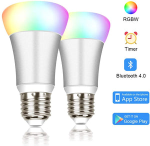 2 Bluetooth Smart LED Light Bulbs