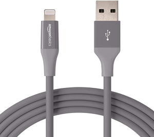 12 AmazonBasics MFi Certified Lightning to USB A Cables