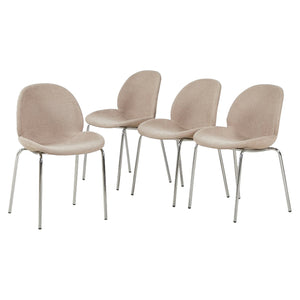 Set Of 4 GreenForest Dining Chairs