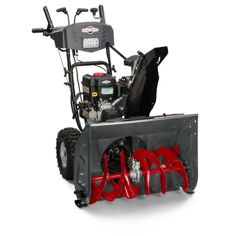 Dual-Stage Snow Thrower with Electric Start
