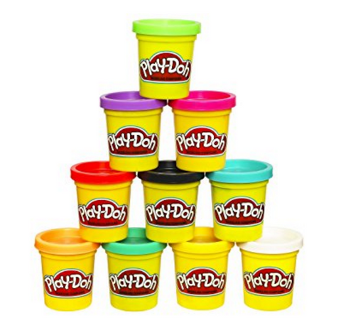 Pack of 10 Play-Doh