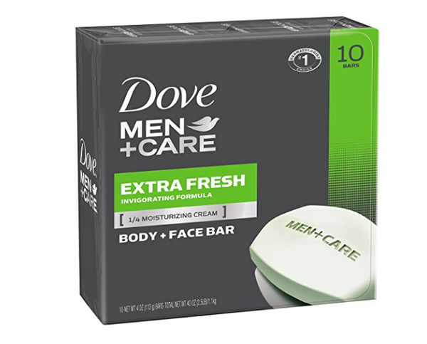 10 bars of Dove soap