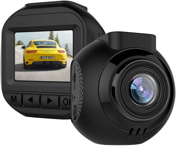 1080P Dash Cam With Night Vision And Motion Detection