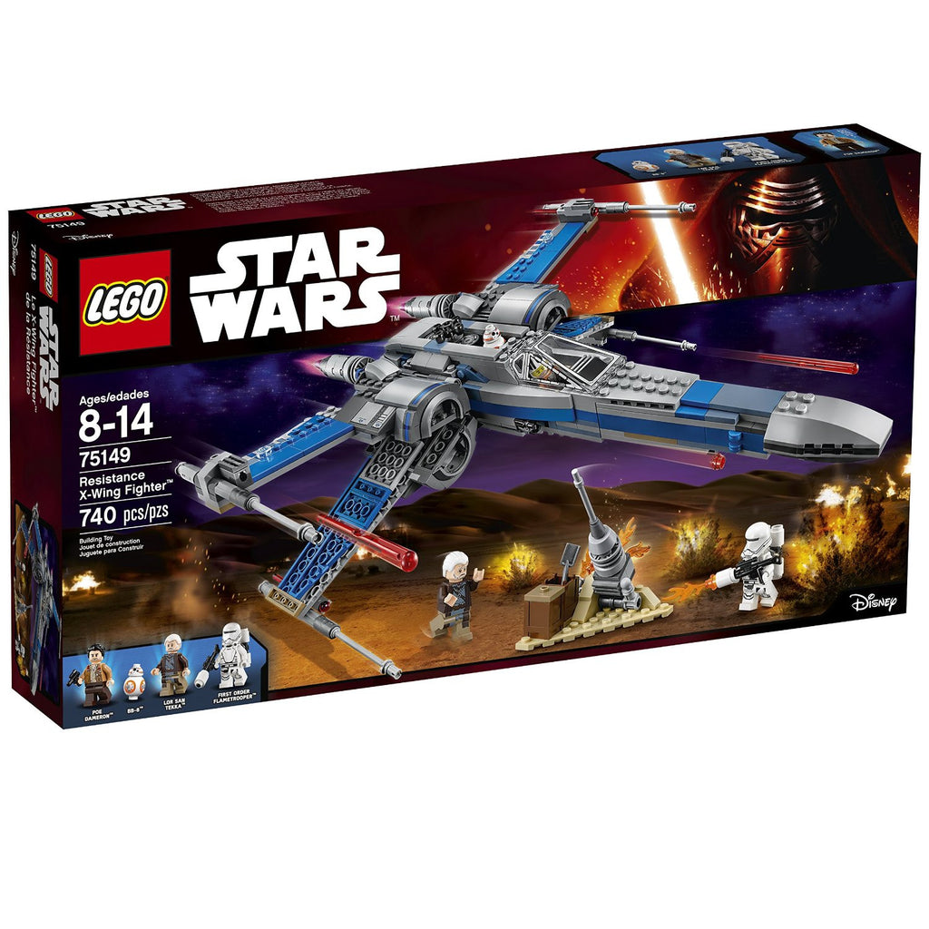 Lego Star Wars Resistance X Wing Fighter Pzdeals