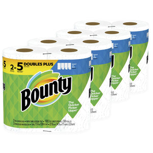24 Rolls Of Bounty Paper Towels