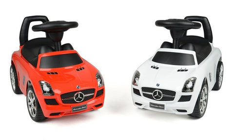 Evezo Mercedes Benz SLS AMG 332 Kids Ride-On Push Car