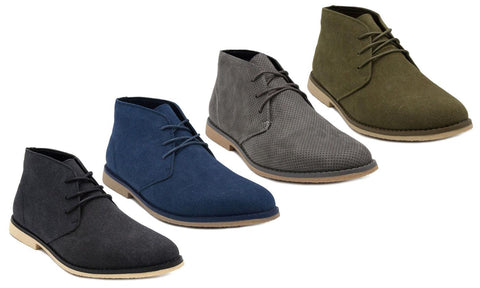 London Fog Men's Spring Casual Chukka Boots