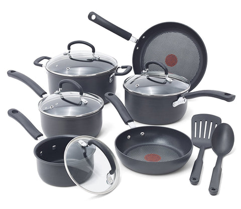 T-fal 12 piece nonstick cookware set