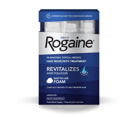 Men's Rogaine Foam, Three Month Supply