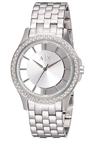 Armani Exchange women's stainless steel watch
