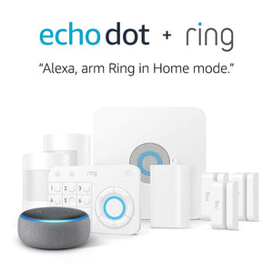Ring Alarm 8 Piece Kit + Echo Dot