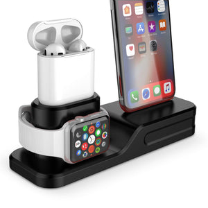 3 in 1 Charging Station For Apple Watch, iPhone And AirPods (4 Colors)