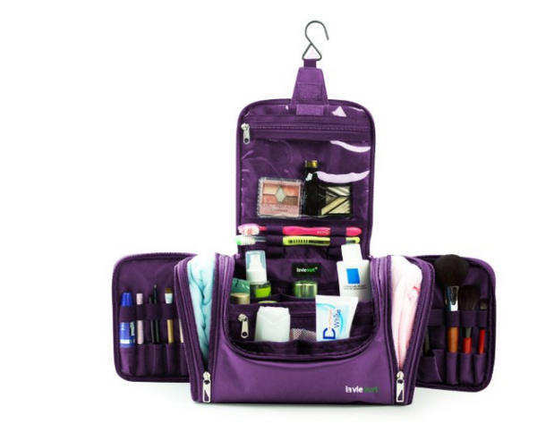 Portable Travel Cosmetic Kit Organizer