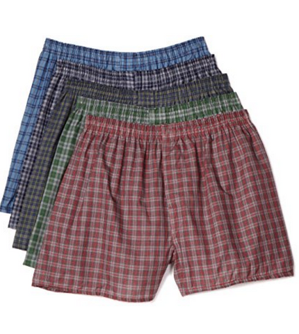 Pack of 5 Fruit of the Loom assorted boxers