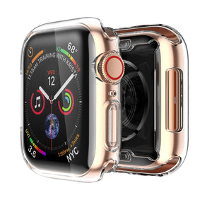 2-Pack Smiling Clear Case for Apple Watch Series 4 (44mm)
