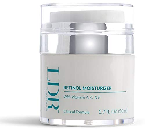 LDR by Baysyx - Retinol Moisturizer (1.7 Oz) | Fortified with Vitamins A, C & E