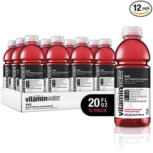 12 Bottles Of Vitaminwater (4 Flavors)