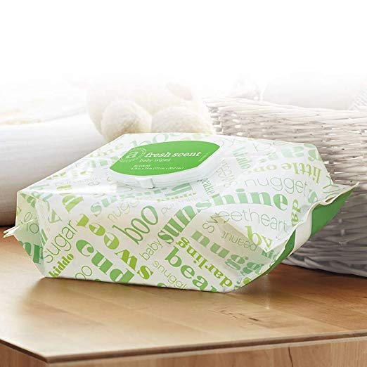 720 Amazon Elements Baby Wipes With Flip Top (3 Variations)