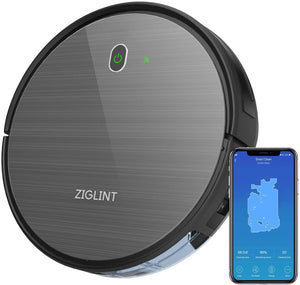 Robot Vacuum Cleaner With Self-Charging And 2-Year Warranty