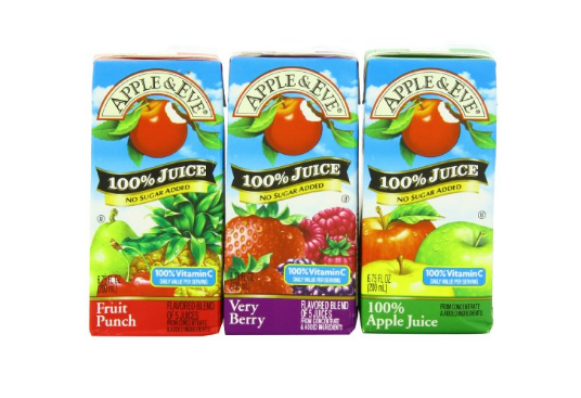 Pack of 32 Apple & Eve 100% Juice Variety Pack