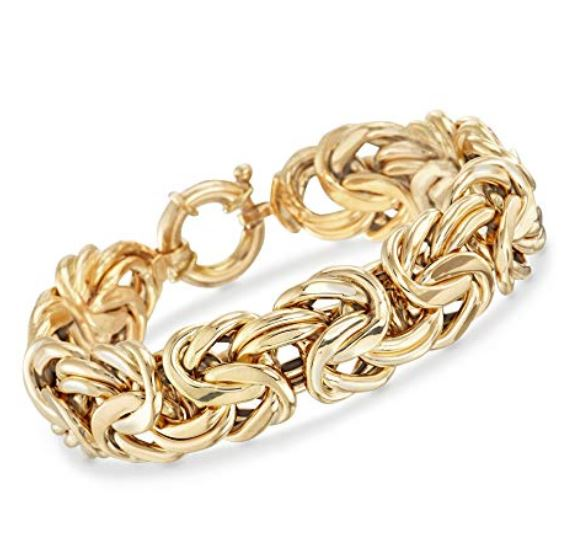Save up to $500 off on Select Italian 18k Yellow Gold Byzantine