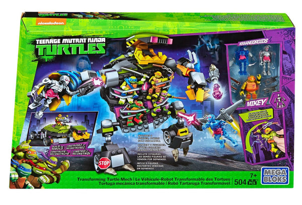 Mega Bloks Teenage Mutant Ninja Turtles Mech Set
