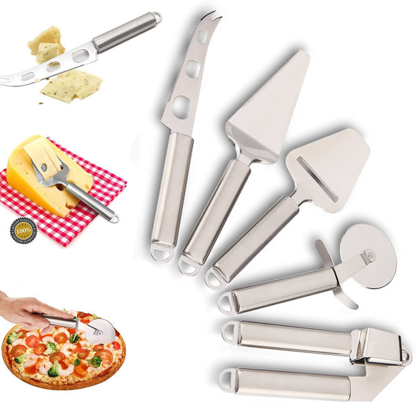 Set of 5 stainless steel kitchen tool set