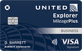 Earn 100k Miles With The Chase United Explorer Business Card Limited Time Offer Until 10/10