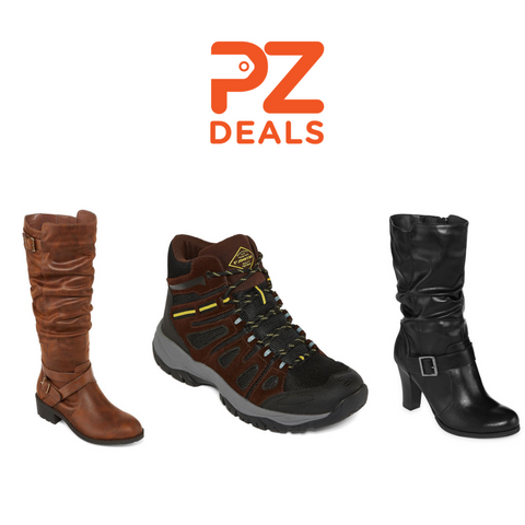 Buy 1 pair of boots get 2 FREE