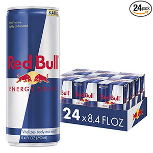 24 Cans Of Red Bull