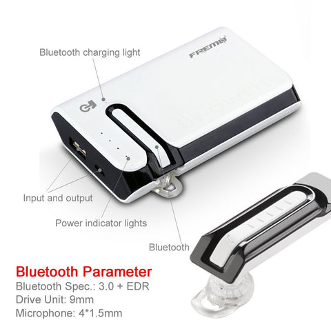 2 in 1 Bluetooth and 7800mAh battery pack