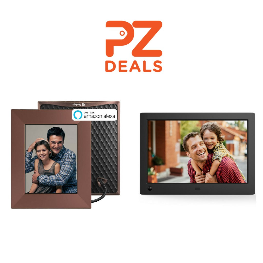 Up to 50% off Nixplay digital photo frames – PzDeals