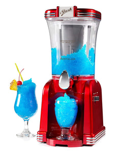 Nostalgia 32-Ounce Slush Drink Maker, Retro Red