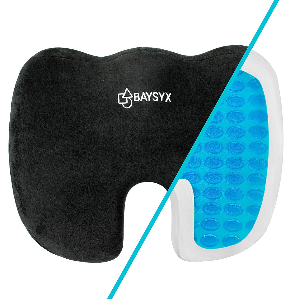 Seat Cushion For Back Pain >> Low Back Pain Relief Coccyx Tailbone Premium Gel Seat Cushion