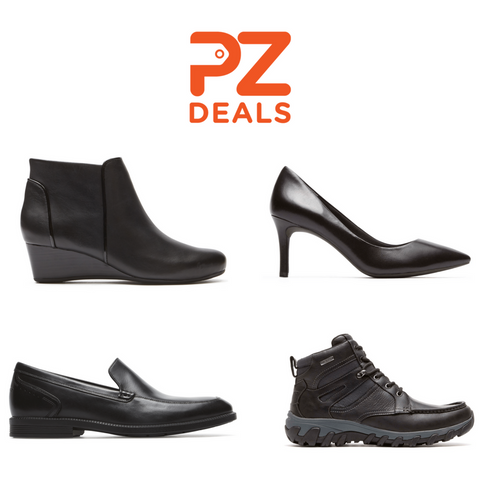 Get 40% off when you buy 2 or more pairs of shoes or boots from Rockport