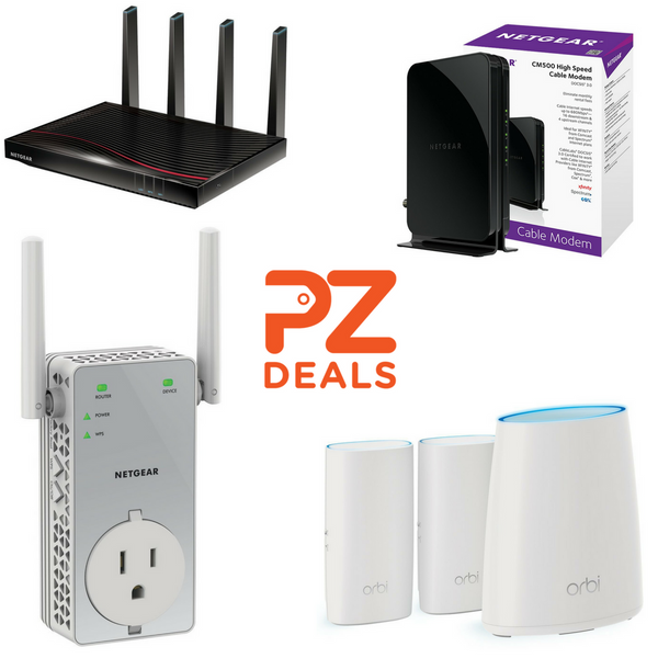 Up to 40% off select Netgear products – PzDeals